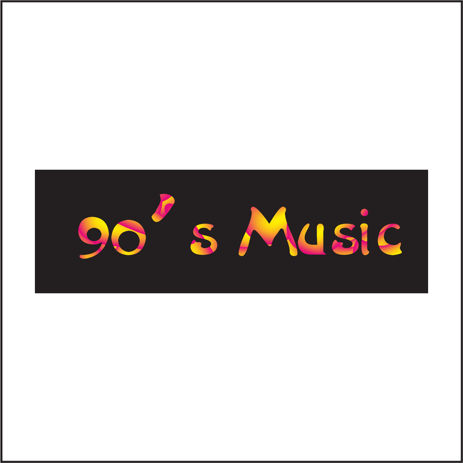 Logo Design by ban - Entry No. 61 in the Logo Design Contest Music of the Nineties Logo.