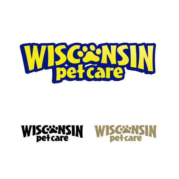 Logo Design by bamsite - Entry No. 48 in the Logo Design Contest Wisconsin Pet Care.