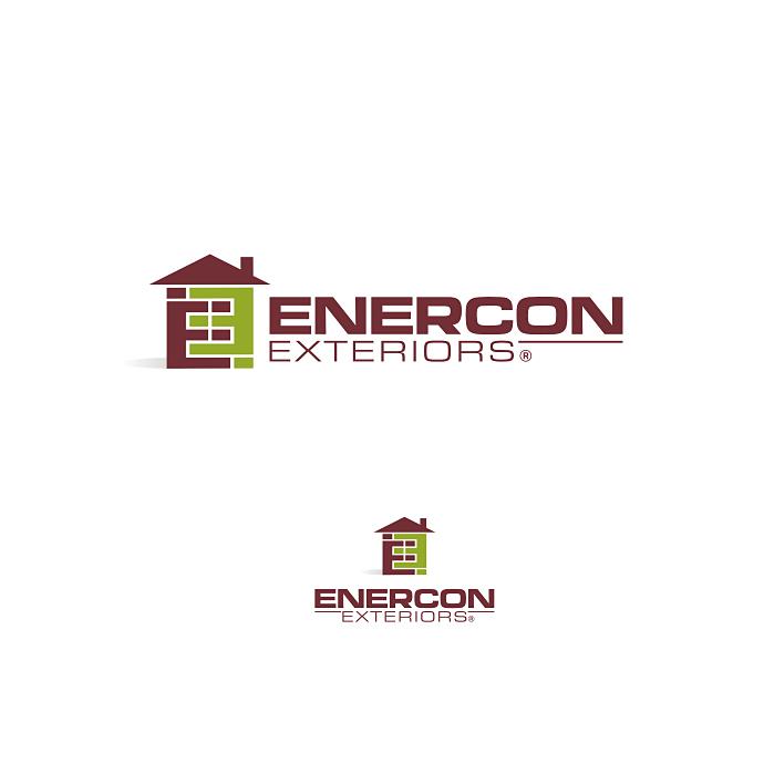 Logo Design by roktiv - Entry No. 31 in the Logo Design Contest Enercon Exteriors.