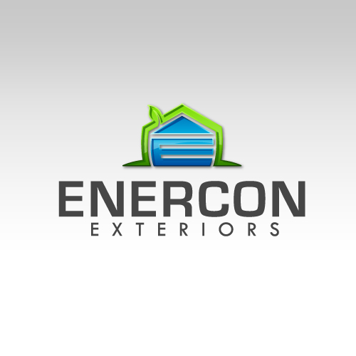 Logo Design by SilverEagle - Entry No. 34 in the Logo Design Contest Enercon Exteriors.