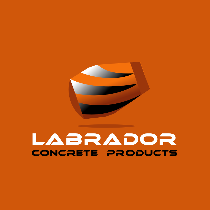Logo Design by Rudy - Entry No. 32 in the Logo Design Contest Logo for Labrador Concrete Products.