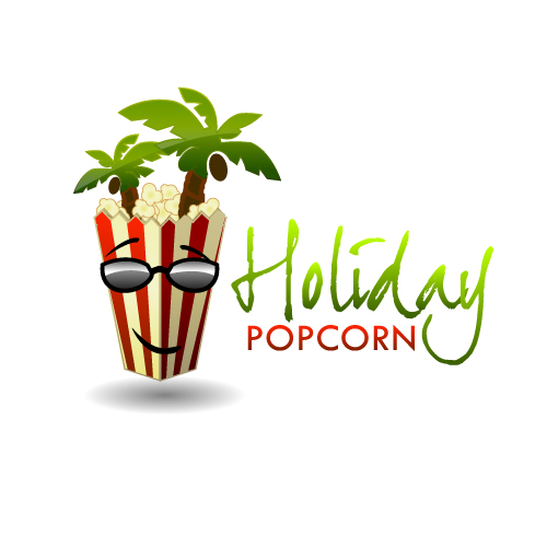 Logo Design by SilverEagle - Entry No. 3 in the Logo Design Contest Holiday Popcorn.