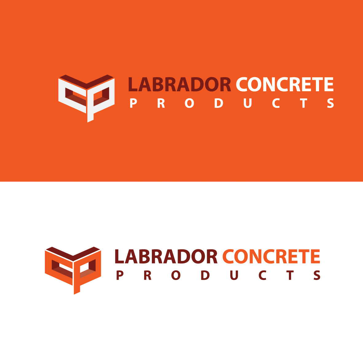 Logo Design by ex - Entry No. 34 in the Logo Design Contest Logo for Labrador Concrete Products.