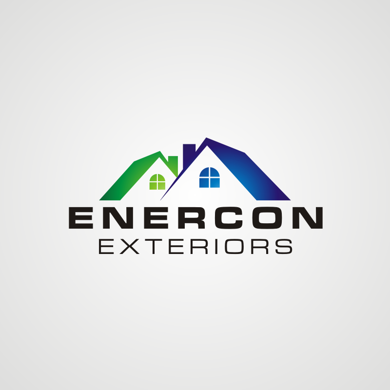 Logo Design by asti - Entry No. 38 in the Logo Design Contest Enercon Exteriors.