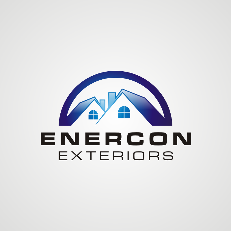 Logo Design by asti - Entry No. 39 in the Logo Design Contest Enercon Exteriors.