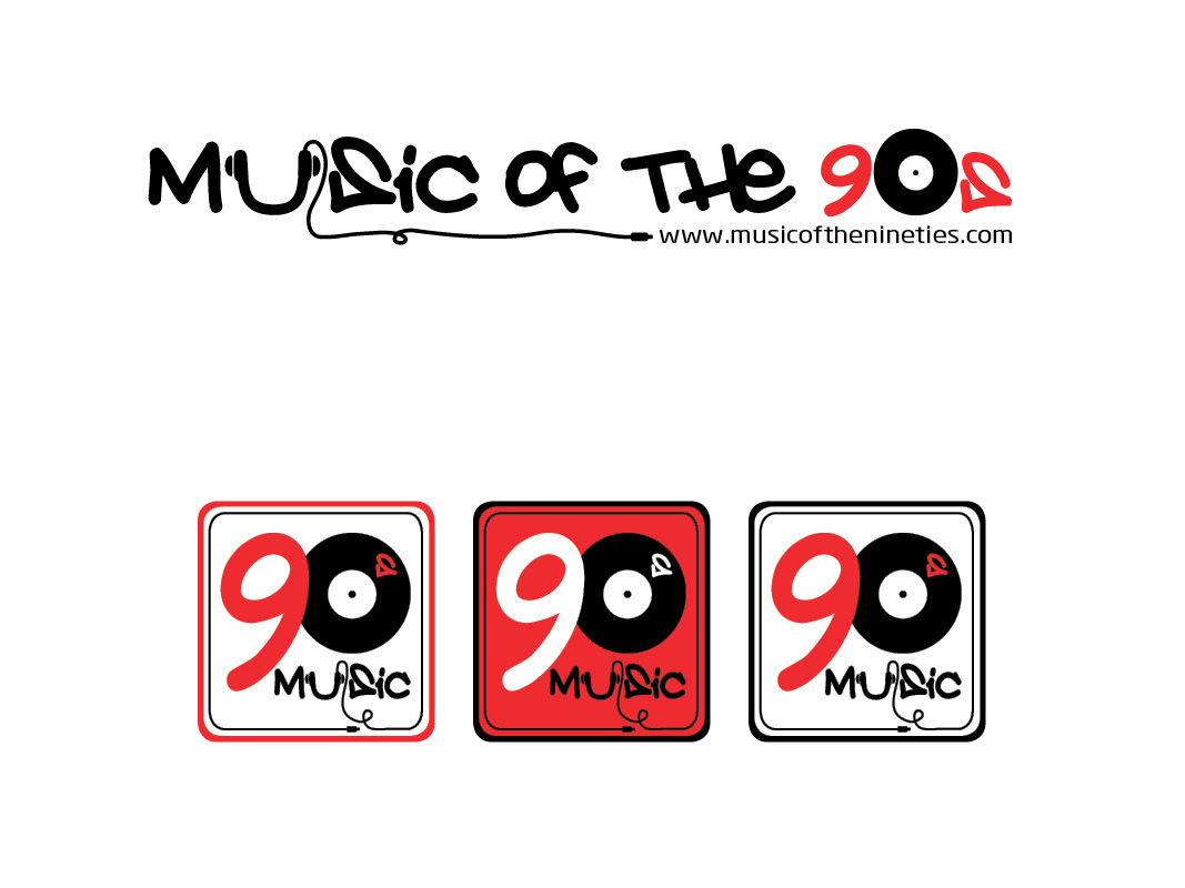 Logo Design by Private User - Entry No. 70 in the Logo Design Contest Music of the Nineties Logo.