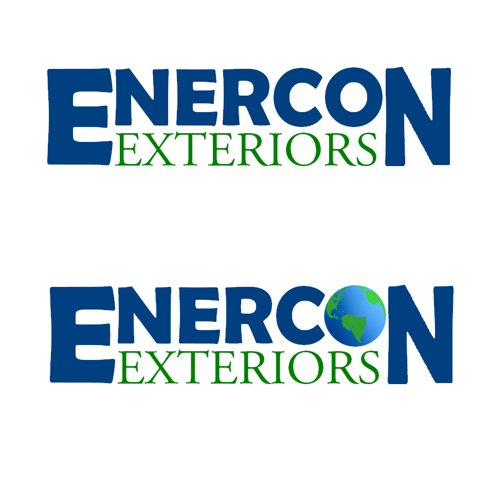 Logo Design by robbiemack - Entry No. 40 in the Logo Design Contest Enercon Exteriors.