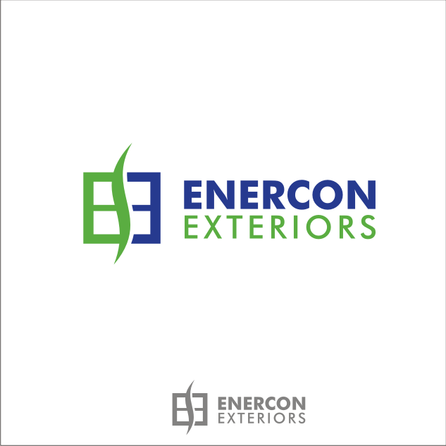 Logo Design by key - Entry No. 41 in the Logo Design Contest Enercon Exteriors.