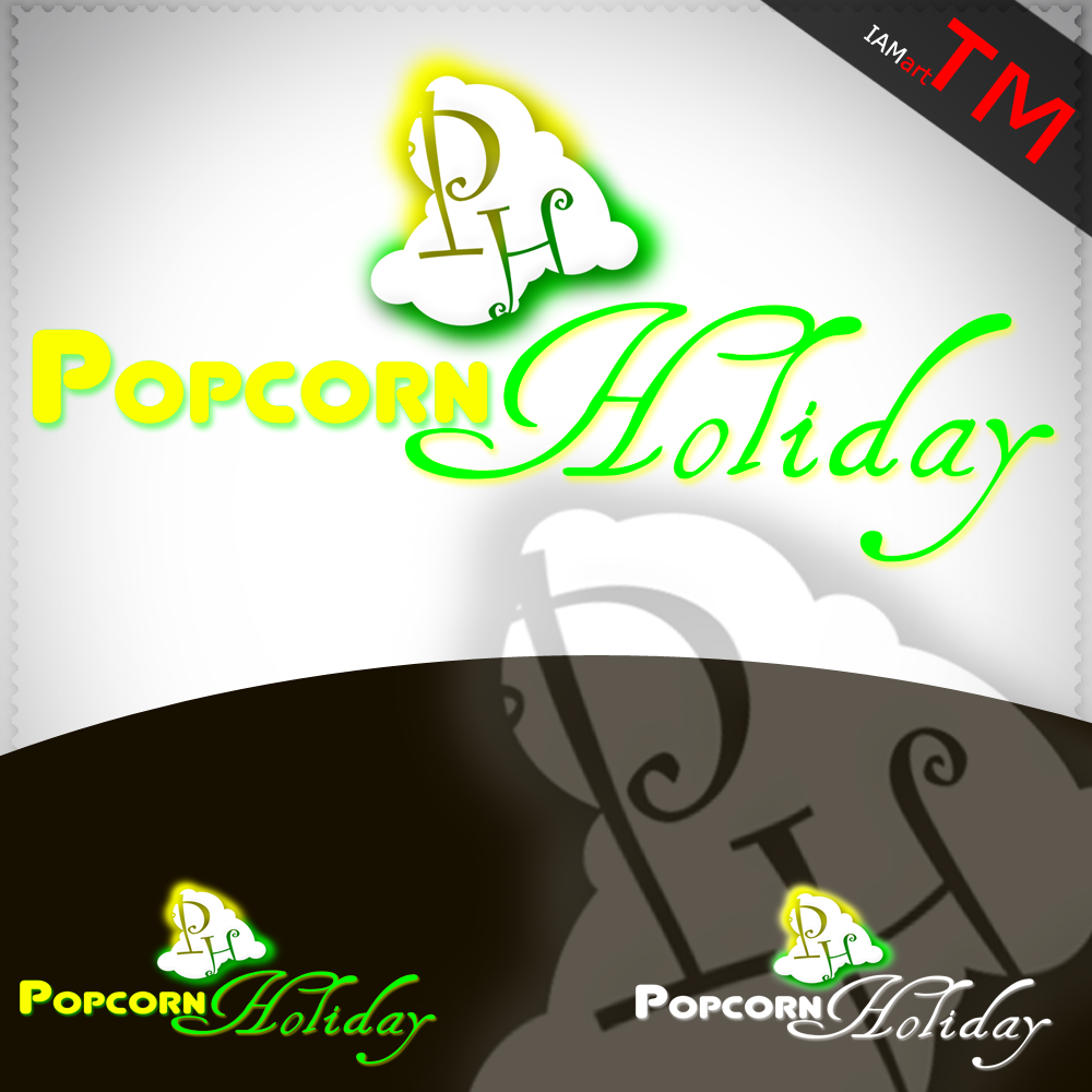 Logo Design by iamart - Entry No. 5 in the Logo Design Contest Holiday Popcorn.