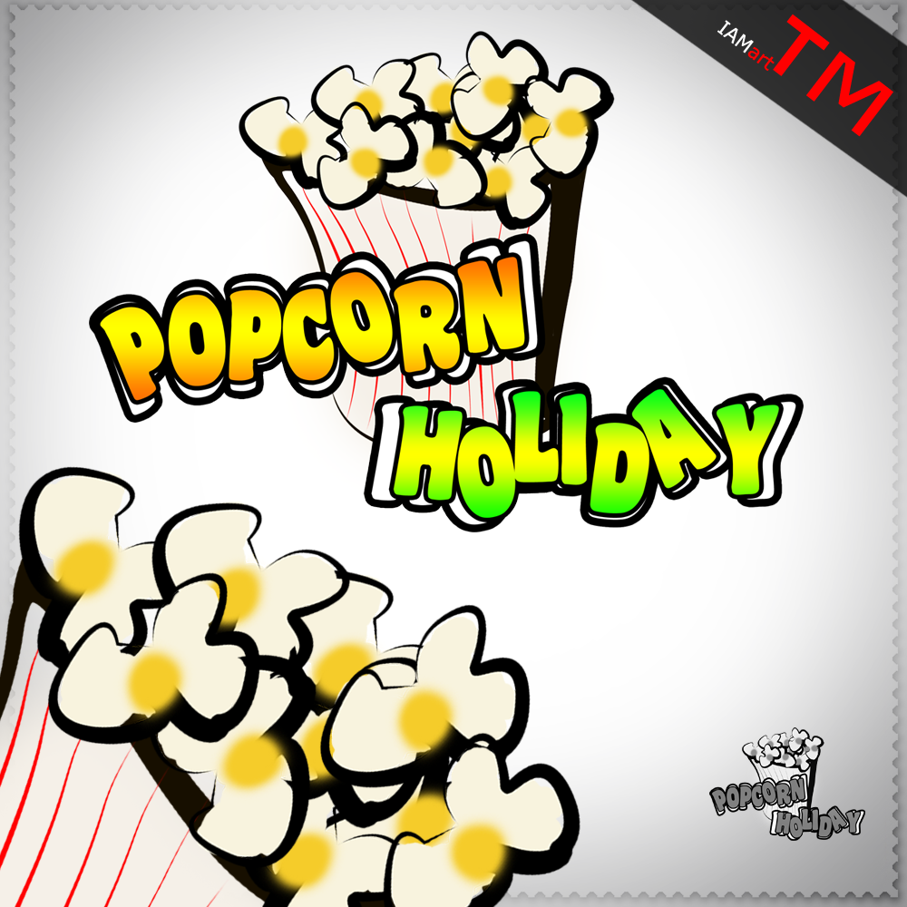 Logo Design by iamart - Entry No. 6 in the Logo Design Contest Holiday Popcorn.
