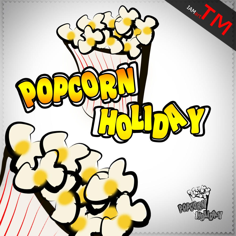Logo Design by iamart - Entry No. 7 in the Logo Design Contest Holiday Popcorn.
