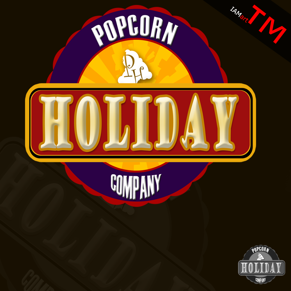 Logo Design by iamart - Entry No. 11 in the Logo Design Contest Holiday Popcorn.