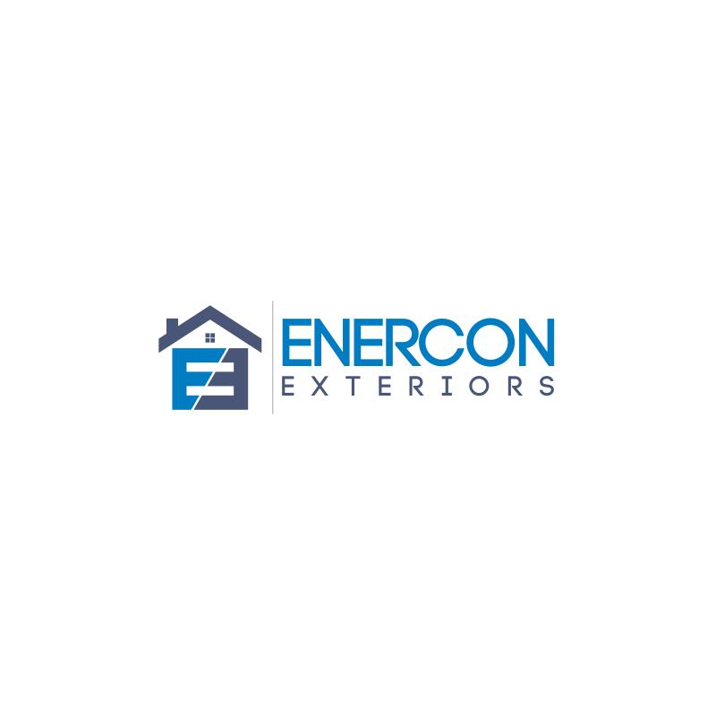 Logo Design by Dionysius Samuel - Entry No. 44 in the Logo Design Contest Enercon Exteriors.