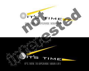 Logo Design by Private User - Entry No. 87 in the Logo Design Contest it's time..