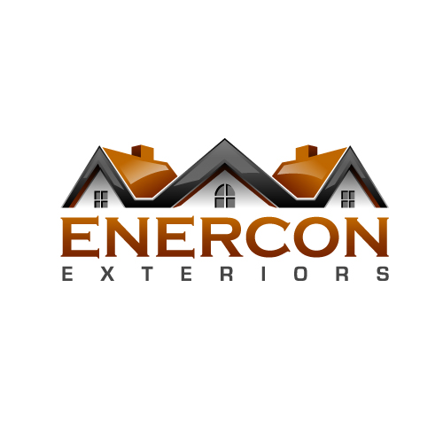 Logo Design by SilverEagle - Entry No. 45 in the Logo Design Contest Enercon Exteriors.