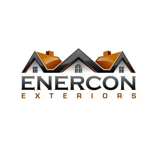 Logo Design by SilverEagle - Entry No. 46 in the Logo Design Contest Enercon Exteriors.