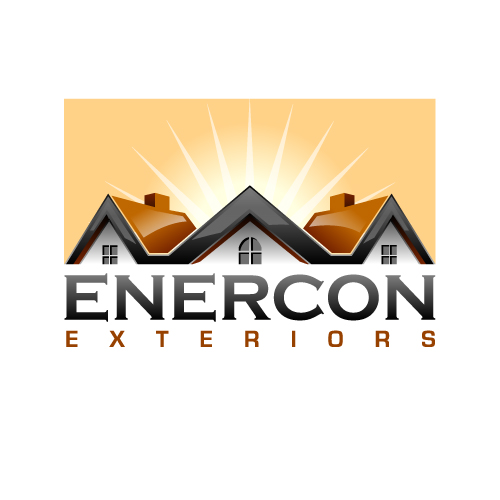 Logo Design by SilverEagle - Entry No. 47 in the Logo Design Contest Enercon Exteriors.
