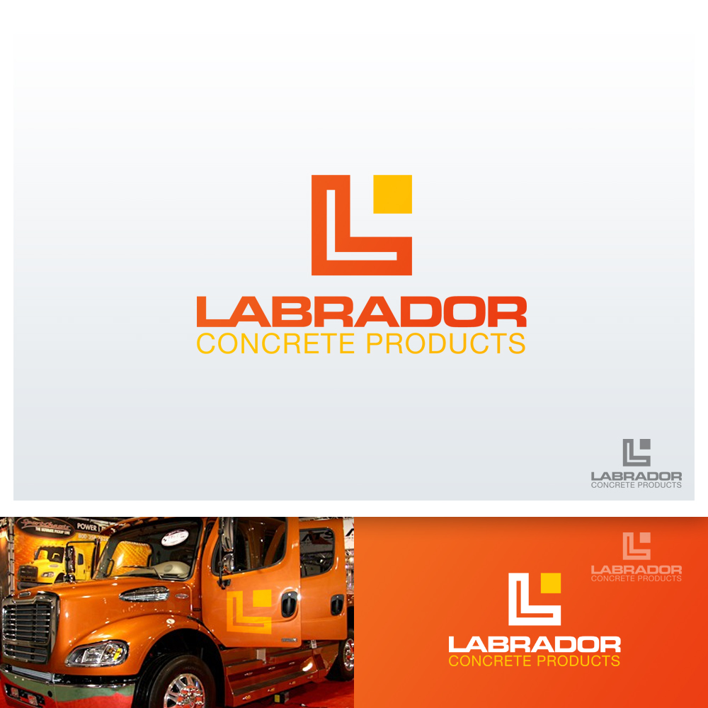 Logo Design by Cinr - Entry No. 49 in the Logo Design Contest Logo for Labrador Concrete Products.