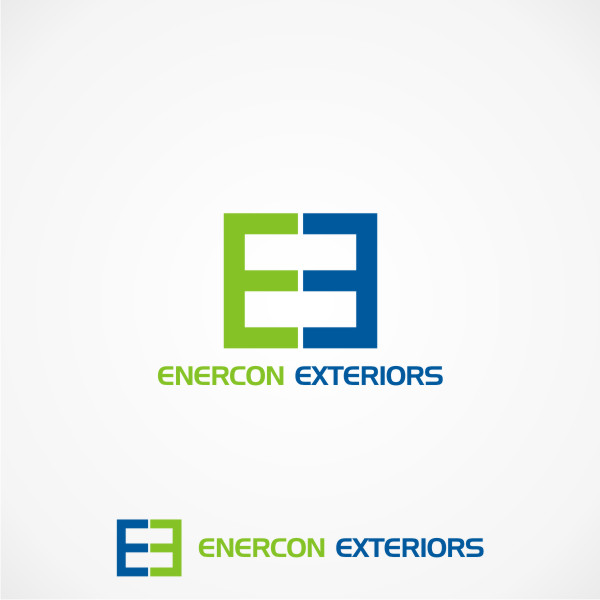 Logo Design by Private User - Entry No. 48 in the Logo Design Contest Enercon Exteriors.