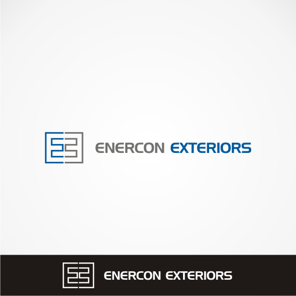 Logo Design by Private User - Entry No. 49 in the Logo Design Contest Enercon Exteriors.