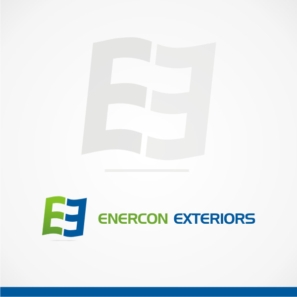 Logo Design by Private User - Entry No. 51 in the Logo Design Contest Enercon Exteriors.