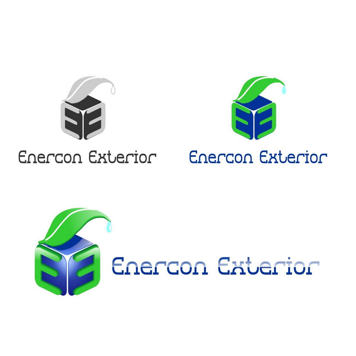 Logo Design by Naevio - Entry No. 53 in the Logo Design Contest Enercon Exteriors.