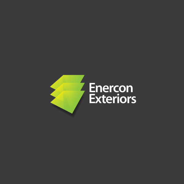 Logo Design by jhox - Entry No. 54 in the Logo Design Contest Enercon Exteriors.