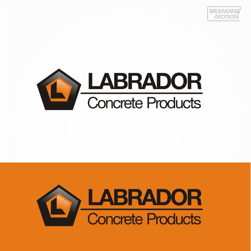 Logo Design by BrandingMotion - Entry No. 56 in the Logo Design Contest Logo for Labrador Concrete Products.