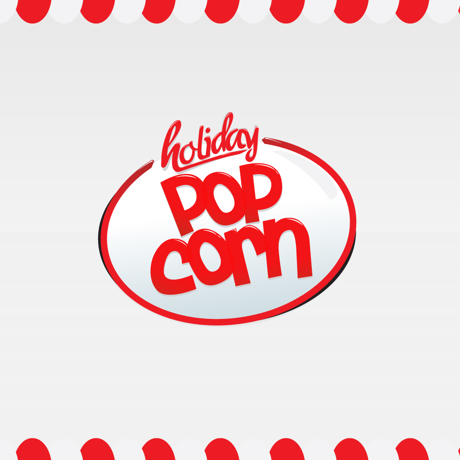 Logo Design by rockpinoy - Entry No. 14 in the Logo Design Contest Holiday Popcorn.