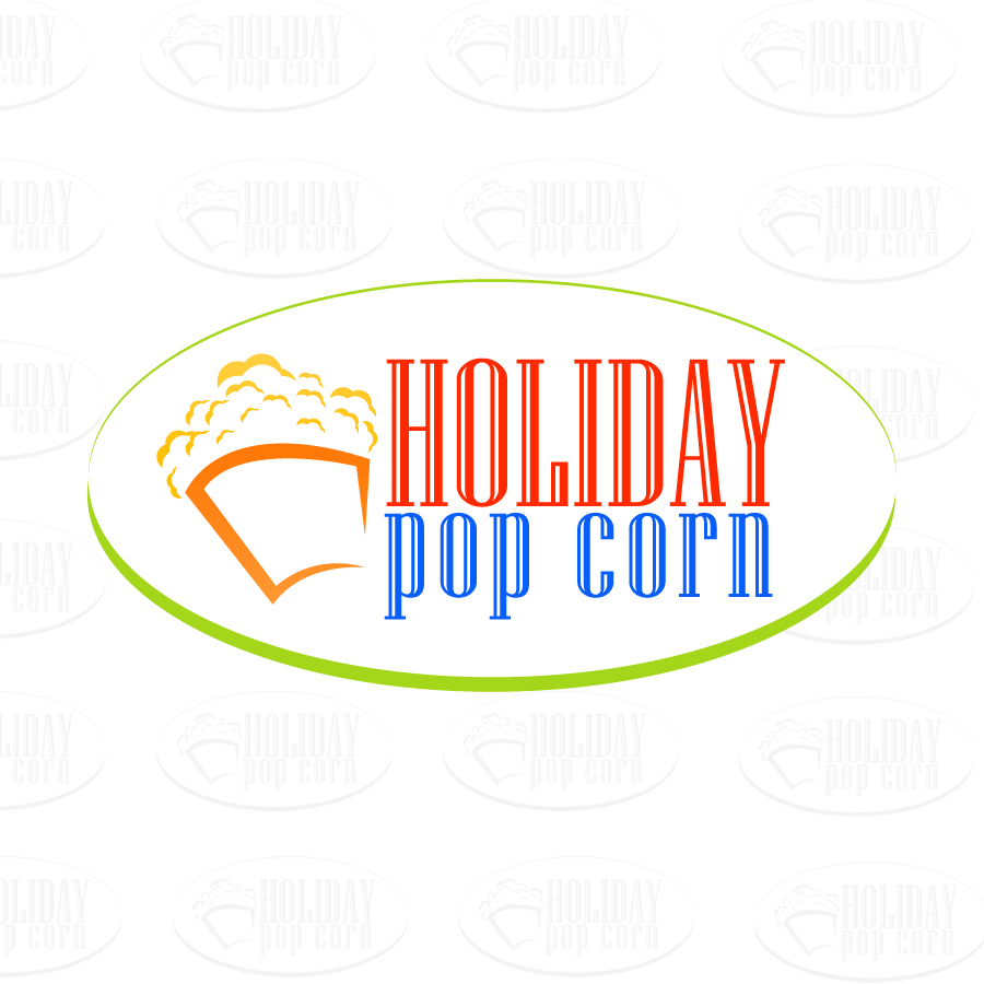 Logo Design by JoshuaCaleb - Entry No. 15 in the Logo Design Contest Holiday Popcorn.