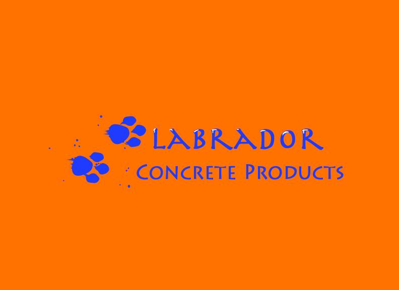 Logo Design by megan - Entry No. 58 in the Logo Design Contest Logo for Labrador Concrete Products.