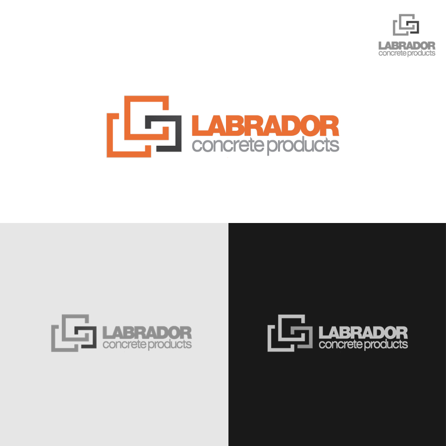 Logo Design by rockpinoy - Entry No. 66 in the Logo Design Contest Logo for Labrador Concrete Products.