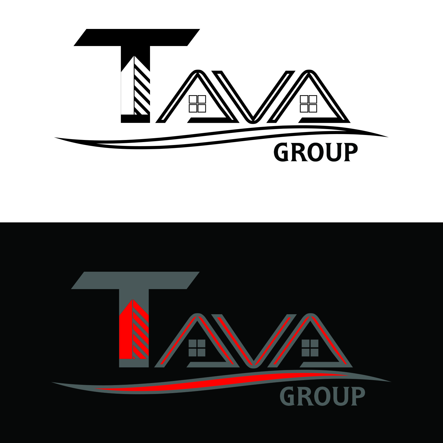 Logo Design by Umair ahmed Iqbal - Entry No. 184 in the Logo Design Contest Creative Logo Design for Tava Group.
