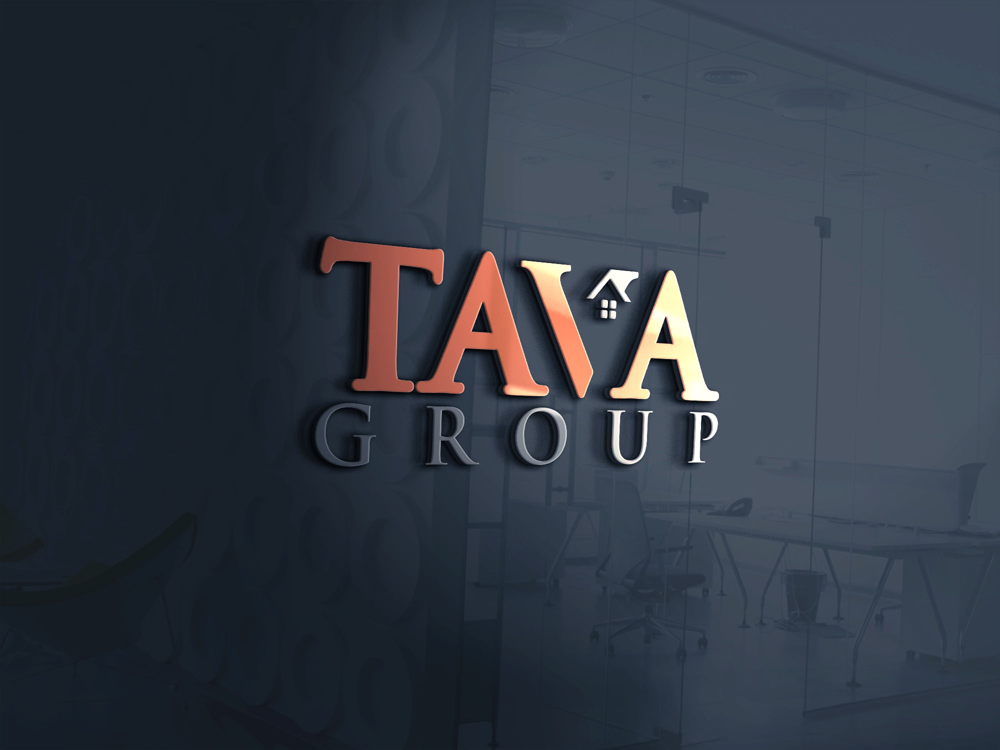 Logo Design by Mohidul Islam - Entry No. 196 in the Logo Design Contest Creative Logo Design for Tava Group.