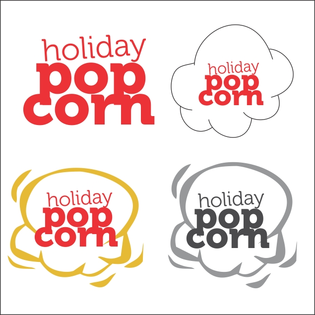 Logo Design by haricane - Entry No. 16 in the Logo Design Contest Holiday Popcorn.