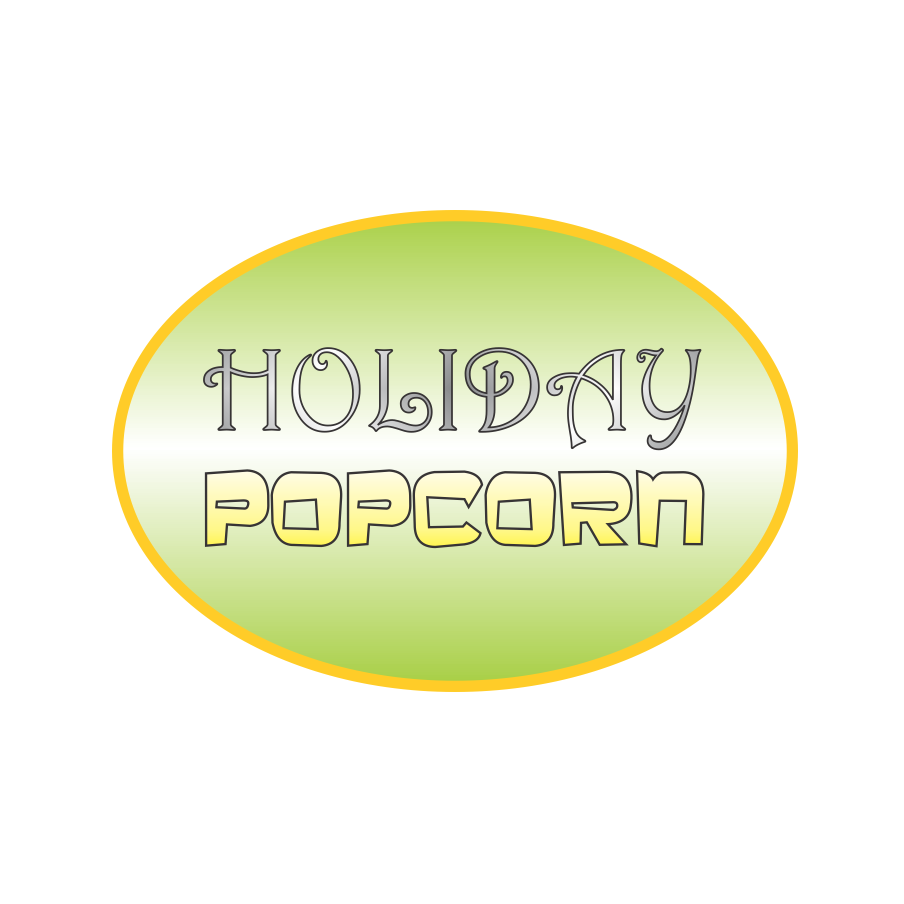 Logo Design by robbiemack - Entry No. 18 in the Logo Design Contest Holiday Popcorn.