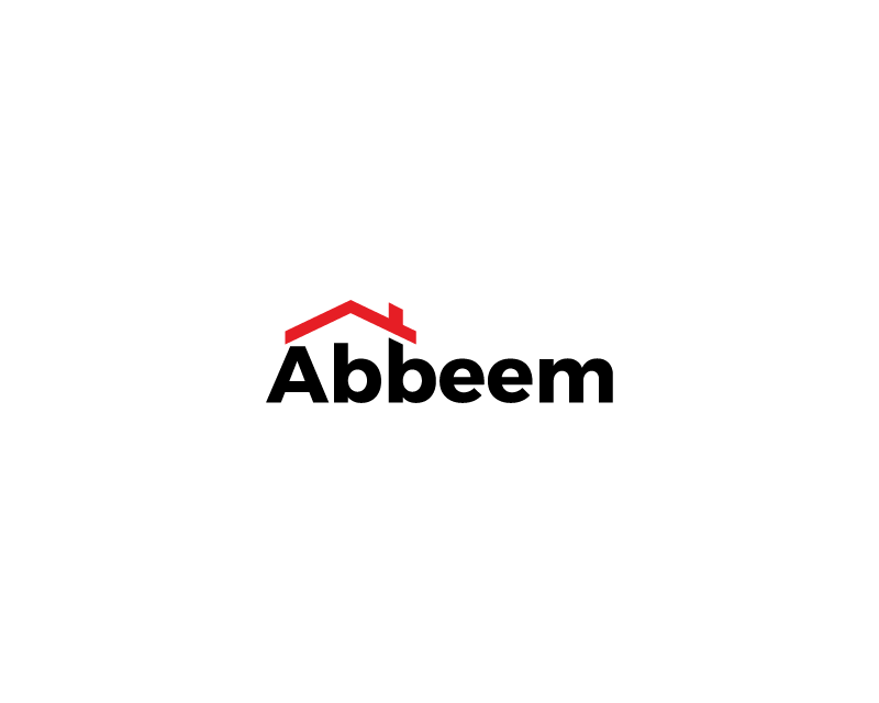 Logo Design by typography - Entry No. 1 in the Logo Design Contest Luxury Logo Design for Abbeem.