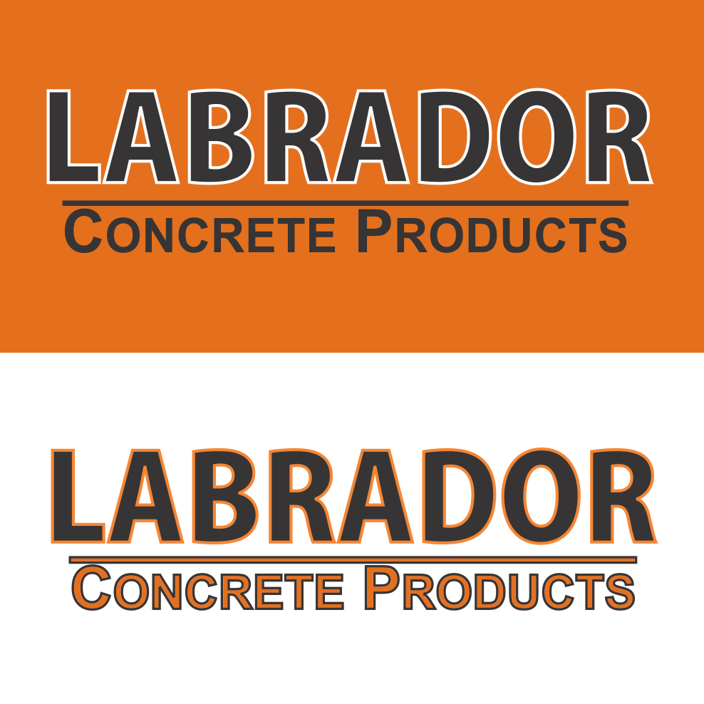 Logo Design by robbiemack - Entry No. 70 in the Logo Design Contest Logo for Labrador Concrete Products.