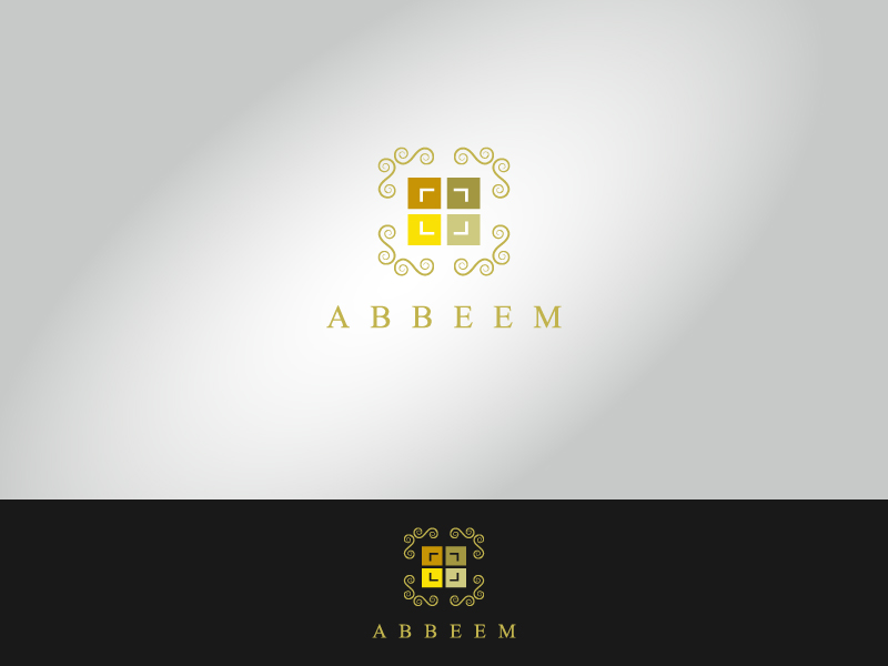 Logo Design by Private User - Entry No. 7 in the Logo Design Contest Luxury Logo Design for Abbeem.