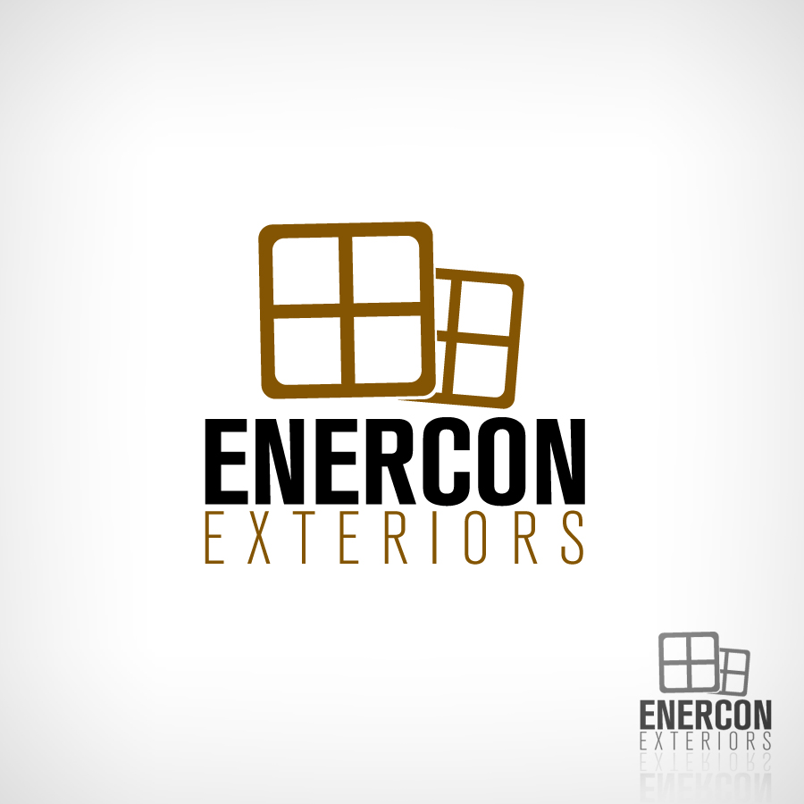 Logo Design by JoshuaCaleb - Entry No. 59 in the Logo Design Contest Enercon Exteriors.