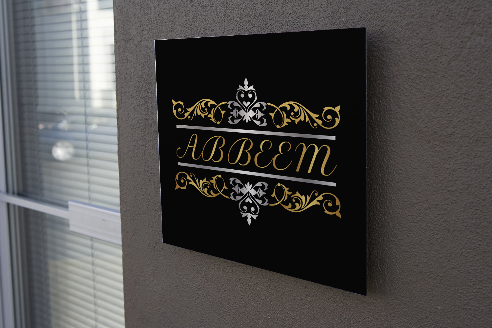 Logo Design by Umair ahmed Iqbal - Entry No. 30 in the Logo Design Contest Luxury Logo Design for Abbeem.