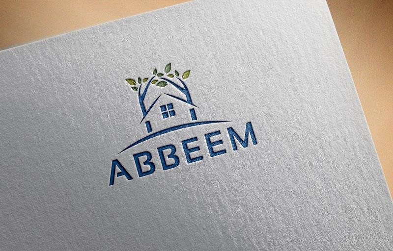 Logo Design by Private User - Entry No. 39 in the Logo Design Contest Luxury Logo Design for Abbeem.