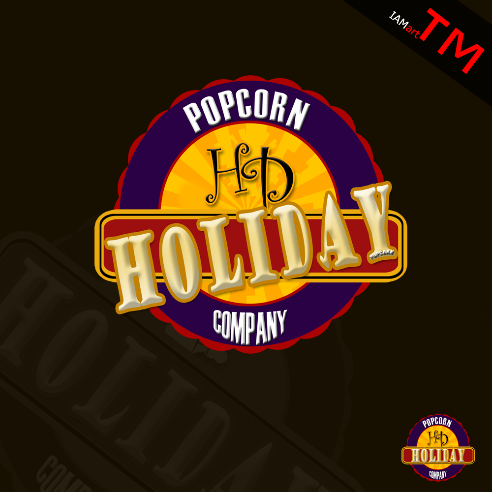 Logo Design by iamart - Entry No. 25 in the Logo Design Contest Holiday Popcorn.