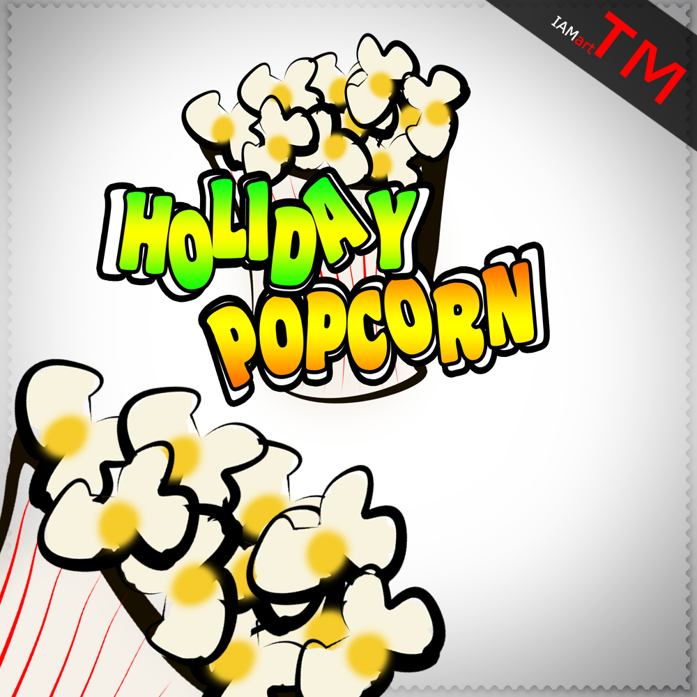 Logo Design by iamart - Entry No. 26 in the Logo Design Contest Holiday Popcorn.