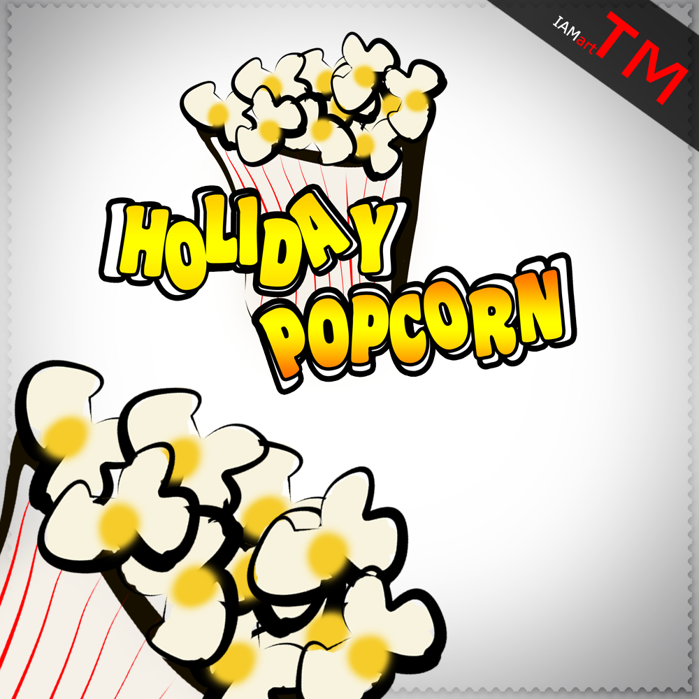 Logo Design by iamart - Entry No. 27 in the Logo Design Contest Holiday Popcorn.