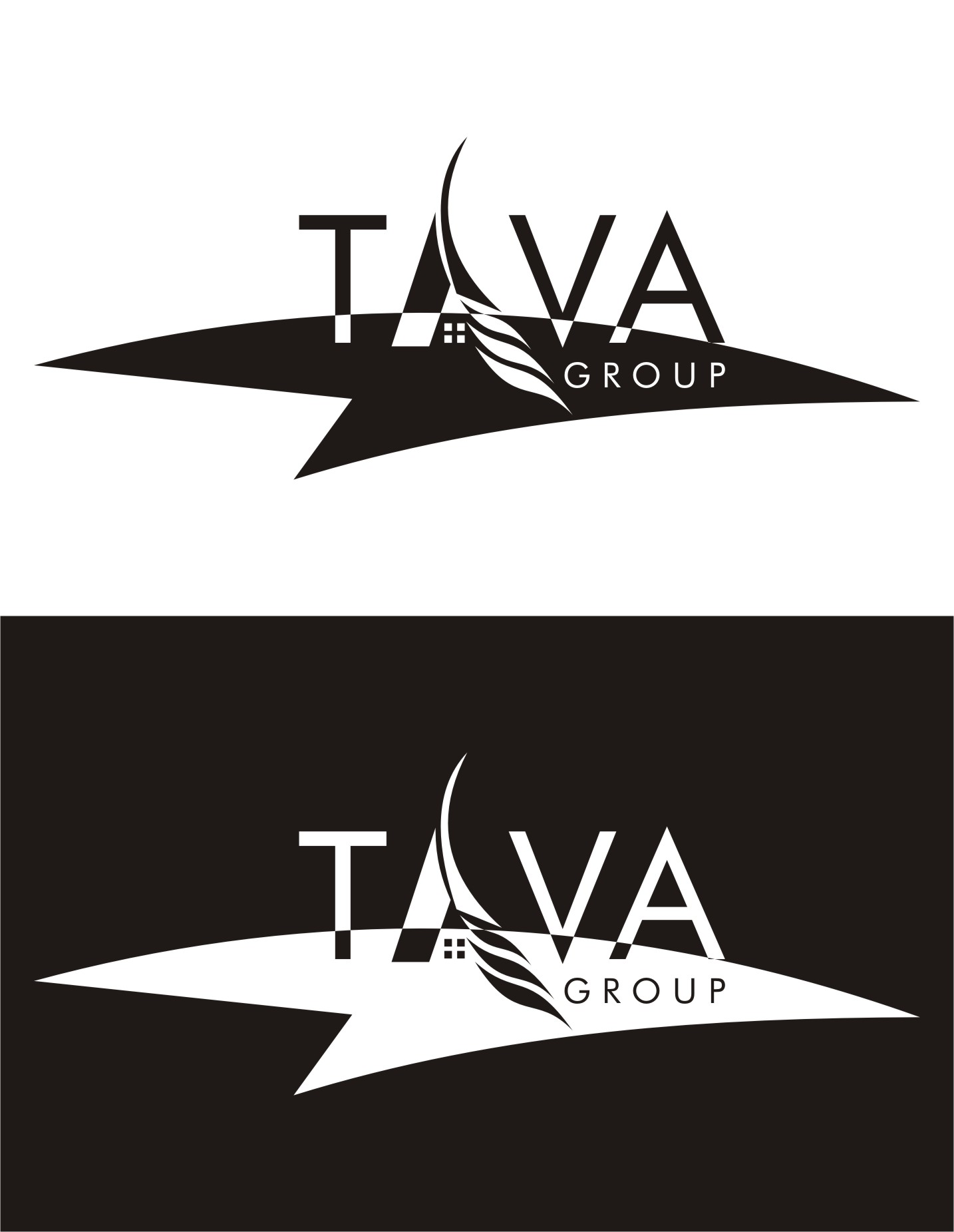 Logo Design by I graphics GRAPHICS - Entry No. 283 in the Logo Design Contest Creative Logo Design for Tava Group.