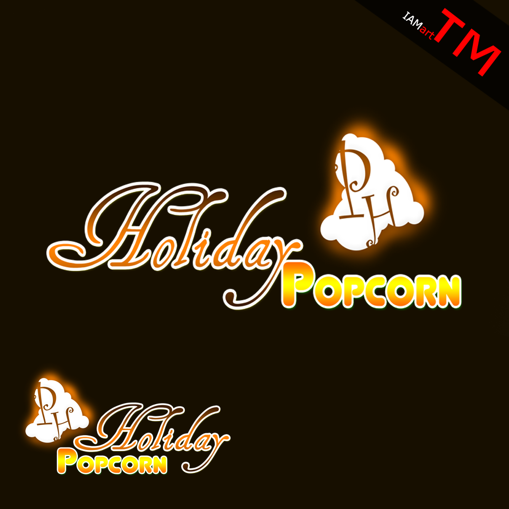 Logo Design by iamart - Entry No. 29 in the Logo Design Contest Holiday Popcorn.