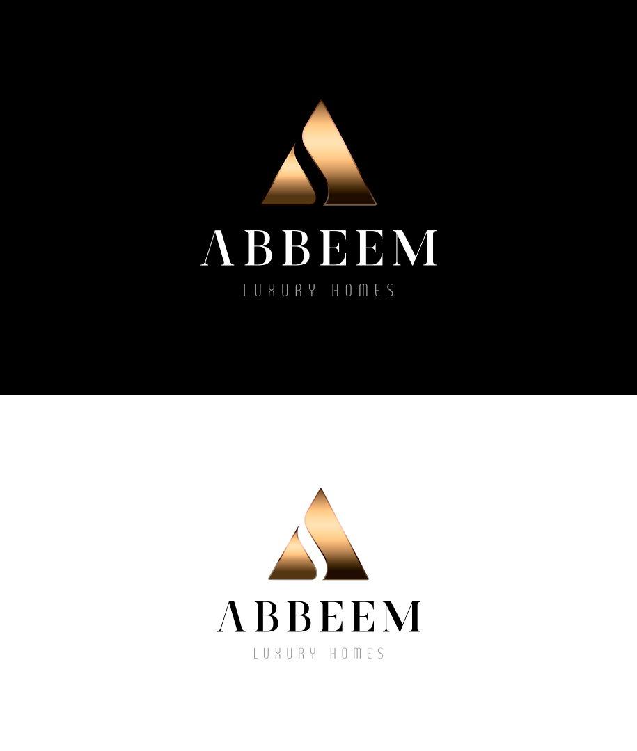 Logo Design by ERNESTO GAITAN - Entry No. 110 in the Logo Design Contest Luxury Logo Design for Abbeem.