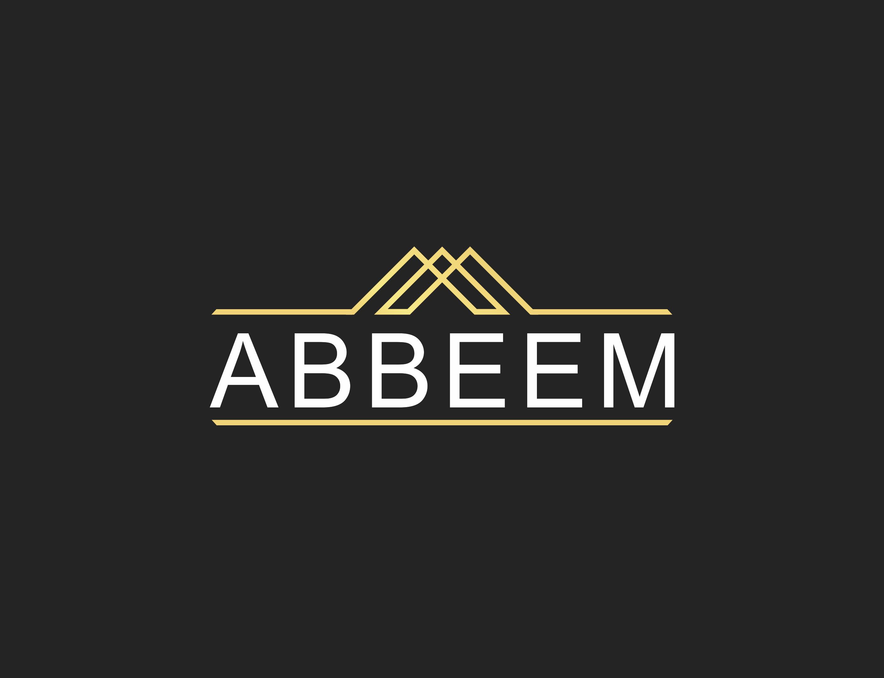 Logo Design by Mokhamad Ngabduloh - Entry No. 120 in the Logo Design Contest Luxury Logo Design for Abbeem.