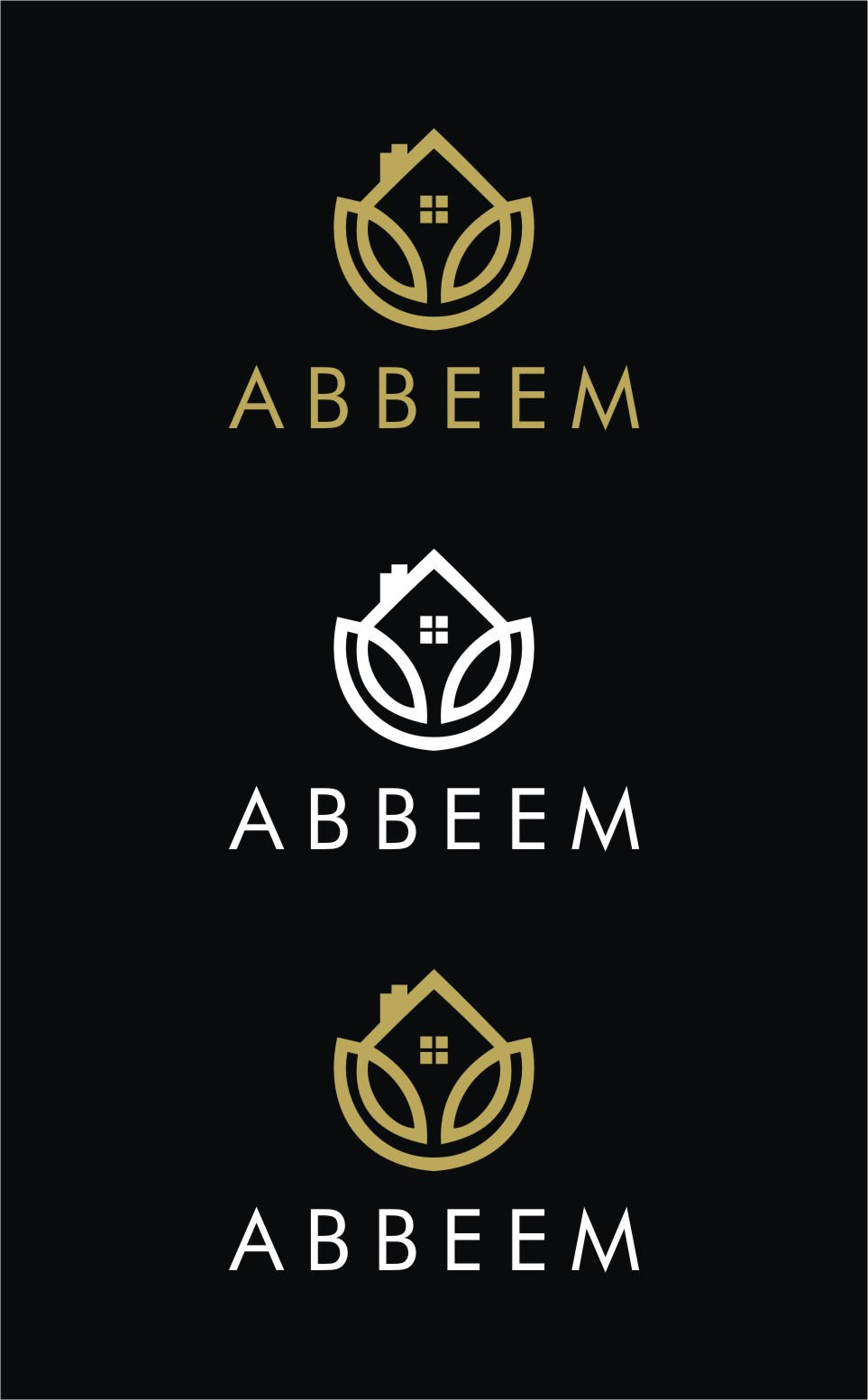 Logo Design by Spider Graphics - Entry No. 178 in the Logo Design Contest Luxury Logo Design for Abbeem.
